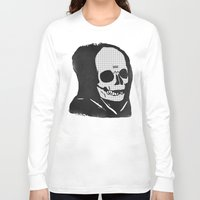 chill Long Sleeve T-shirts featuring chill death by Alex DeSpain