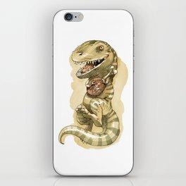 Dinosaure à viande iPhone Skin