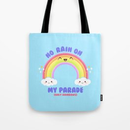 Rainbow Parade Tote Bag