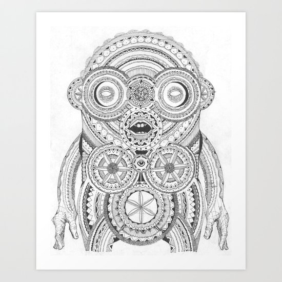 Aplonon Art Print