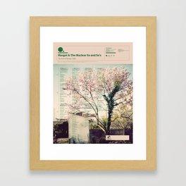 The Visual Mixtape 2010 | The Dust Of Retreat | 19 / 25 Framed Art Print