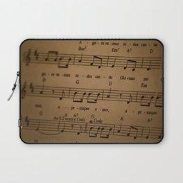 Music Tabs Laptop Sleeve