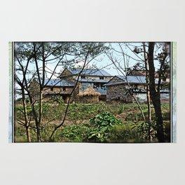 NEPALI FOOTHILLS FARMSTEAD Rug