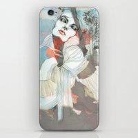 death iPhone & iPod Skins featuring Death  by Felicia Atanasiu
