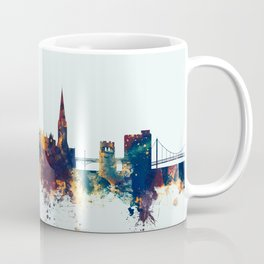 Exeter England Skyline Coffee Mug