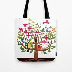 summer tree Tote Bag