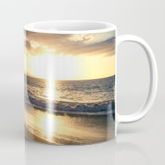 Poolenalena Beach Sunset Makena Maui Hawaii Mug