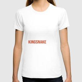 Funny Kingsnake Meme Snake Lover T-shirt