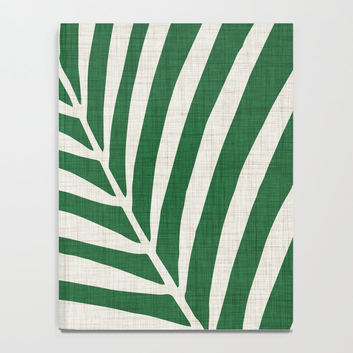 Minimalist Palm Leaf Notebook