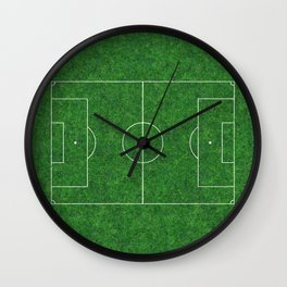 Football's coming home Wall Clock