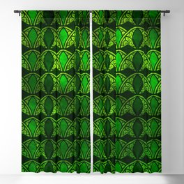 Emerald Arches Blackout Curtain