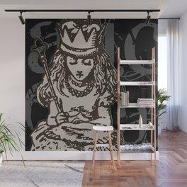 Alice as Queen Wall Mural