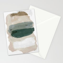 Paint Stripes Stationery Cards