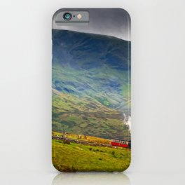 Steam Trains To The Summit iPhone Case