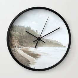Oregon Coast Wall Clock