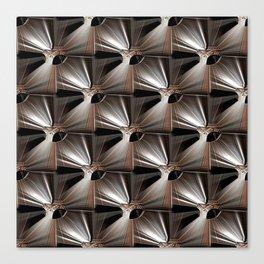 Metal Armour Screen Pattern Canvas Print