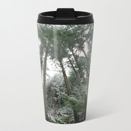 Winter Woods Metal Travel Mug