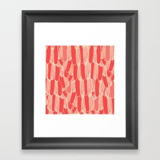 Bird Tails Framed Art Print
