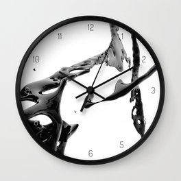 BLACK COFFEE (Liqulet collection) Wall Clock