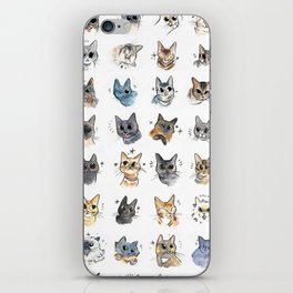 50 cat bleps! iPhone Skin