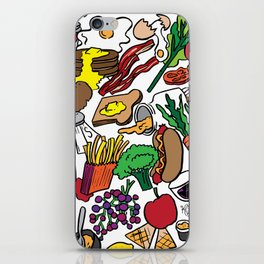 Foodie iPhone Skin