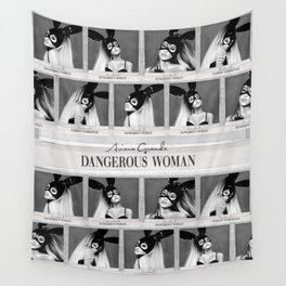 Dangerous Woman Drawings Design Pattern Wall Tapestry