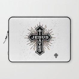 Jesus Saves Laptop Sleeve
