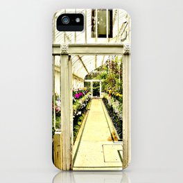 Life in  a glass house iPhone Case