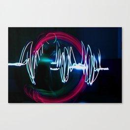 Sound Waves Canvas Print