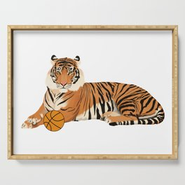 Basketball Tiger Serving Tray