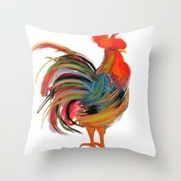 Le Coq Throw Pillow