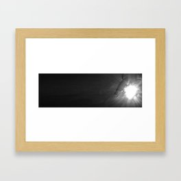 Deep Down Framed Art Print