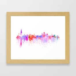 Love Chicago Framed Art Print