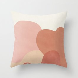 Strange Landscape Throw Pillow