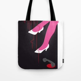 You can't wear white shoes after labour day. Tote Bag