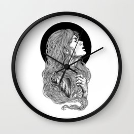 HIGHER THAN THE MOUNTAINS Wall Clock