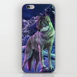 The Way of the Wolf iPhone Skin