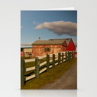 farm Stationery Cards featuring Farm by SShaw Photographic