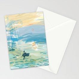 Impressionism Adobe Draw Stationery Cards