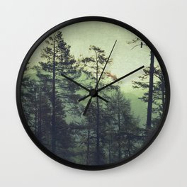 the wind was the only sound Wall Clock