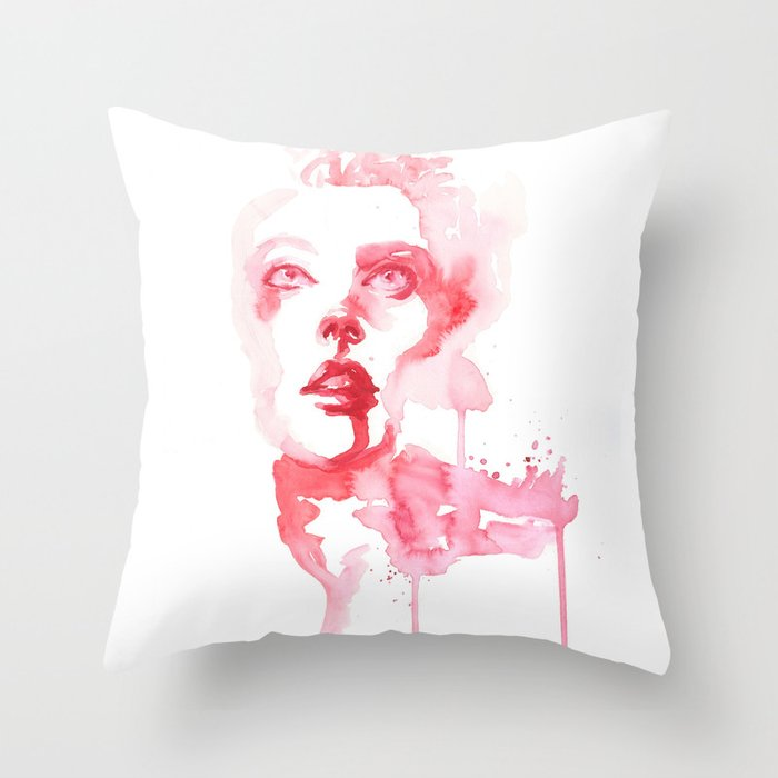 The Reaping Throw Pillow