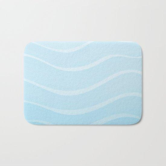Light Sea Bath Mat