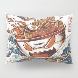 Great Ramen off Kanagawa Pillow Sham