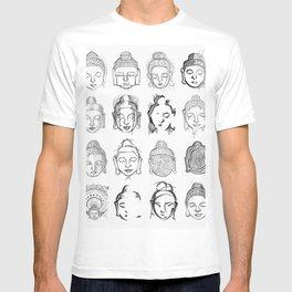 Many Buddhas T-shirt