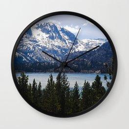 June Lake Wall Clock