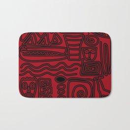 Africa Red Bath Mat