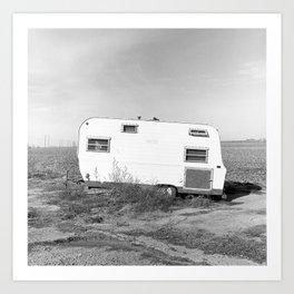 Country Trailer.  Art Print