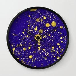 Blue Adagio Wall Clock