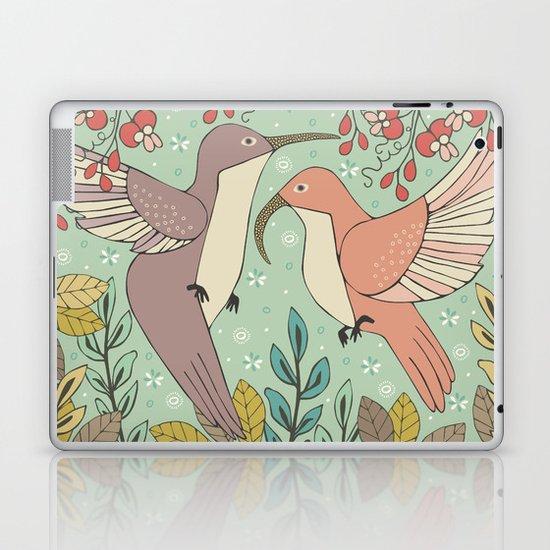 Dancing Hummingbirds Laptop & iPad Skin