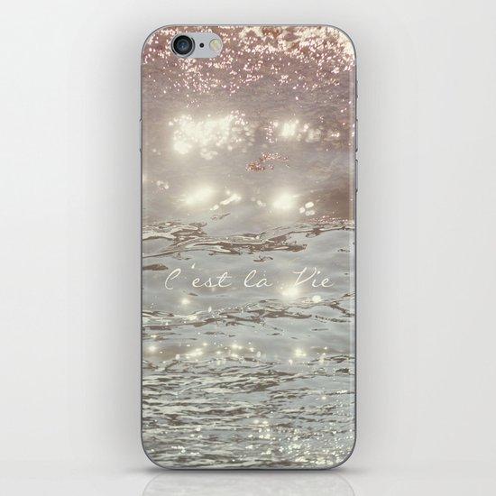 C'est La Vie II iPhone Skin
